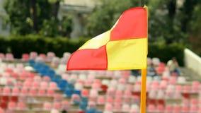 Σημαία γωνιών ποδοσφαίρου φιλμ μικρού μήκους