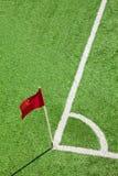 σημαία γωνιών Στοκ εικόνες με δικαίωμα ελεύθερης χρήσης