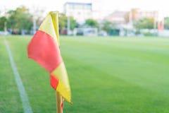 Σημαία γωνιών Στοκ φωτογραφίες με δικαίωμα ελεύθερης χρήσης