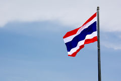 σημαία εθνικός Ταϊλανδός Στοκ Φωτογραφίες