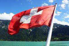 σημαία Ελβετός Στοκ Εικόνα