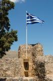 σημαία Ελλάδα Στοκ Φωτογραφία