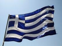 σημαία ελληνικά Στοκ Εικόνες