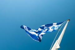 σημαία Ελλάδα Στοκ εικόνες με δικαίωμα ελεύθερης χρήσης