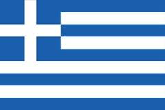 σημαία Ελλάδα Στοκ φωτογραφία με δικαίωμα ελεύθερης χρήσης
