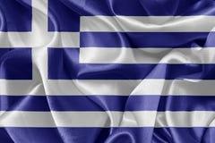 σημαία ελληνικά Στοκ εικόνα με δικαίωμα ελεύθερης χρήσης