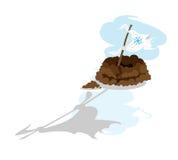 σημαία ημέρας groundhog Στοκ εικόνα με δικαίωμα ελεύθερης χρήσης