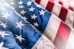 σημαία ΗΠΑ αμερικανική σημαία Αμερικανική σημαία που φυσά στον αέρα Στοκ φωτογραφία με δικαίωμα ελεύθερης χρήσης