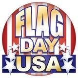 σημαία ΗΠΑ ημέρας Στοκ εικόνες με δικαίωμα ελεύθερης χρήσης
