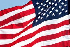 σημαία ΗΠΑ της Αμερικής Στοκ Φωτογραφίες