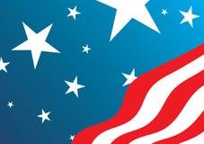 σημαία ΗΠΑ Στοκ φωτογραφία με δικαίωμα ελεύθερης χρήσης