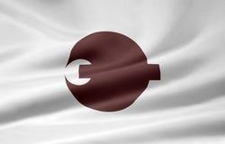 σημαία Ιαπωνία Νάρα Στοκ εικόνα με δικαίωμα ελεύθερης χρήσης