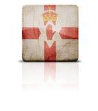 σημαία Ιρλανδία βόρεια Στοκ Εικόνα