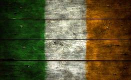 σημαία Ιρλανδία Στοκ Εικόνες