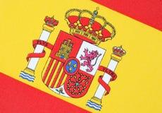 σημαία ισπανικά Στοκ Φωτογραφία