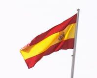 σημαία ισπανικά στοκ φωτογραφία με δικαίωμα ελεύθερης χρήσης