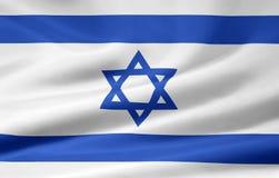 σημαία Ισραήλ Στοκ εικόνες με δικαίωμα ελεύθερης χρήσης