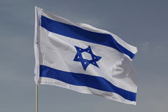 σημαία Ισραήλ Στοκ Φωτογραφία