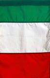 σημαία ιταλικά Στοκ εικόνα με δικαίωμα ελεύθερης χρήσης