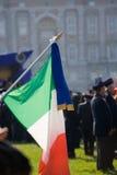 σημαία ιταλικά Στοκ φωτογραφίες με δικαίωμα ελεύθερης χρήσης