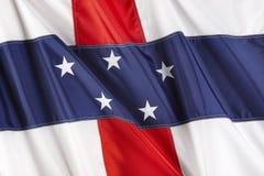 σημαία Κάτω Χώρες των Αντιλ& Στοκ εικόνες με δικαίωμα ελεύθερης χρήσης