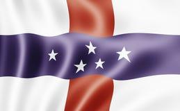 σημαία Κάτω Χώρες των Αντιλ& Στοκ εικόνα με δικαίωμα ελεύθερης χρήσης