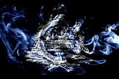 Σημαία καπνού πόλεων του Τσάρλεστον, νότια Καρολίνα κράτος, Ηνωμένες Πολιτείες Στοκ Φωτογραφία