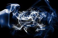 Σημαία καπνού πόλεων του Τσάρλεστον, νότια Καρολίνα κράτος, Ηνωμένες Πολιτείες απεικόνιση αποθεμάτων