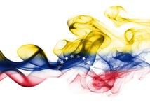 Σημαία καπνού της Βενεζουέλας Στοκ εικόνα με δικαίωμα ελεύθερης χρήσης