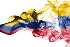 Σημαία καπνού της Βενεζουέλας Στοκ φωτογραφίες με δικαίωμα ελεύθερης χρήσης