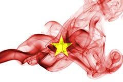 Σημαία καπνού του Βιετνάμ Στοκ φωτογραφία με δικαίωμα ελεύθερης χρήσης