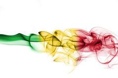 Σημαία καπνού του Μαλί Στοκ Εικόνες