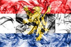 Σημαία καπνού του Μπενελούξ, πολιτικοοικονομική ένωση του Βελγίου, Κάτω Χώρες, Λουξεμβούργο Στοκ Φωτογραφία