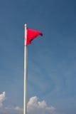 σημαία κινδύνου στοκ εικόνες