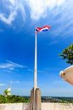 Σημαία, κόκκινο, λευκό, μπλε Στοκ Εικόνες