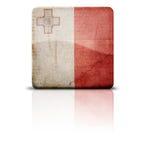 σημαία Μάλτα Στοκ Φωτογραφία