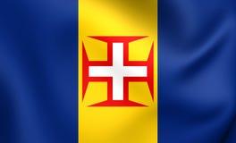 σημαία Μαδέρα Στοκ Φωτογραφία