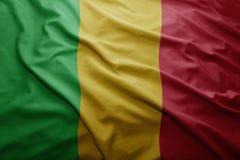 σημαία Μαλί Στοκ Εικόνα