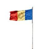 σημαία Μολδαβός Στοκ Φωτογραφίες