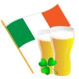 σημαία μπύρας ελεύθερη απεικόνιση δικαιώματος