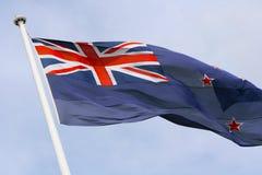 σημαία Νέα Ζηλανδία Στοκ εικόνα με δικαίωμα ελεύθερης χρήσης