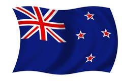 σημαία Νέα Ζηλανδία Στοκ φωτογραφίες με δικαίωμα ελεύθερης χρήσης