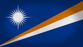 Σημαία Νησιών Μάρσαλ Στοκ Εικόνες