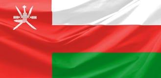 σημαία Ομάν Στοκ φωτογραφίες με δικαίωμα ελεύθερης χρήσης