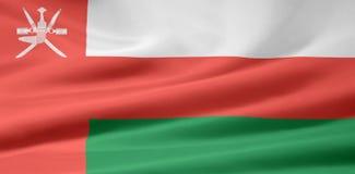 σημαία Ομάν Στοκ εικόνες με δικαίωμα ελεύθερης χρήσης