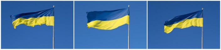 σημαία Ουκρανός Στοκ Φωτογραφίες
