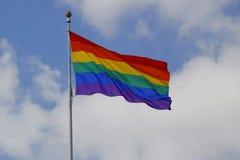 Σημαία ουράνιων τόξων Στοκ εικόνα με δικαίωμα ελεύθερης χρήσης