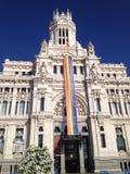 Σημαία ουράνιων τόξων στοκ φωτογραφία με δικαίωμα ελεύθερης χρήσης