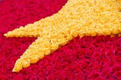 Σημαία λουλουδιών του Βιετνάμ Στοκ Εικόνα
