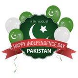 σημαία Πακιστάν Στοκ Φωτογραφίες